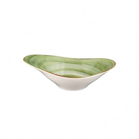 Bowl Oval 27x18 Cm Therapy Green