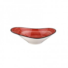 Bowl Oval 27x18cm Passion Red