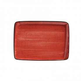 Bandeja Rectangular 36 X25 Cm Passion Moove Red
