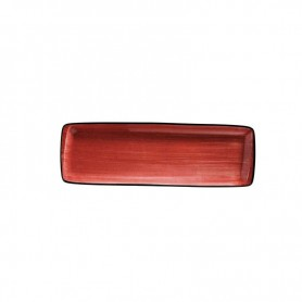 Bandeja Rectangular 48 X 15 Cm Passion Moove Red