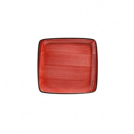 Plato Postre 22 X 20cm Passion Moove Red
