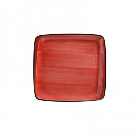 Plato Llano 27 X 25cm Passion Moove Red