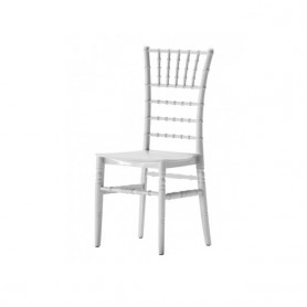Silla Liguria Apilable PP Blanco
